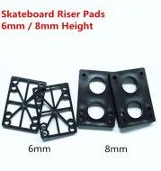 Increased shock absorber gasket for skateboard rubber