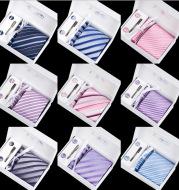 Six-piece men's formal tie