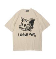 High Street Dark Cartoon Print T-Shirt