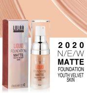 Waterproof matte liquid foundation