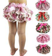 Children's satin lace shorts