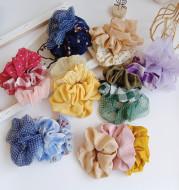 Fabric rubber band hair band headdress
