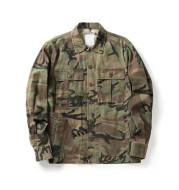 Multi-pocket camouflage jacket