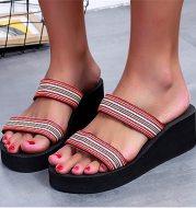 2021 summer women's bohemian slippers slippers