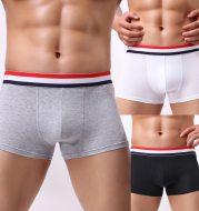 Fashionable sexy cotton breathable men's boxer shorts