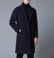 Men's trendy woolen coat