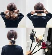Ball head hair coil