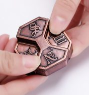 Zinc alloy IQ box lock