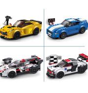 Super Racers Supercar Racing Car Building Blocks