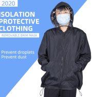 Civil detachable epidemic prevention clothing