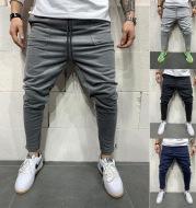 Jogging pants pocket casual pants