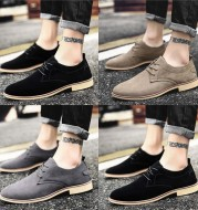 Trendy men's shoes British style students