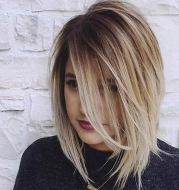 Short straight wig