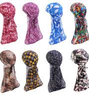 Bandage print headscarf hat