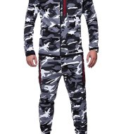 Hoodies camouflage sports suit