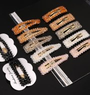 Color crystal hair accessories