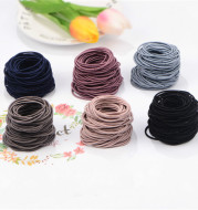 100pc 2mm thick and high elastic base hair loop