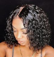 Short curly headgear