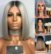 Black gray hair set