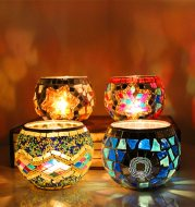 European restoring ancient ways candlestick places a piece