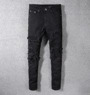 Men's jeans black hole