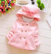 Girls warm coat winter jacket clothes for Newborn girl baby
