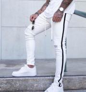 Men's tattered jeans
