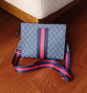 Small square bag personality stripes