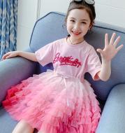 Tulle Girl Princess Cake Skirt