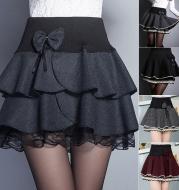 Summer fluffy skirt A-line bottom skirt