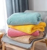 Flannel sheets Solid blanket