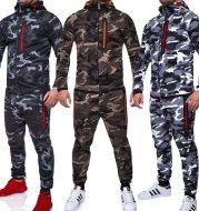 Men's outdoor camouflage tops