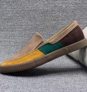 Canvas men's shoes spring lazy pedal