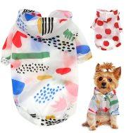 Dog thin breathable fruit sun protection clothing