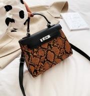 Fashion Snake Platinum Bag
