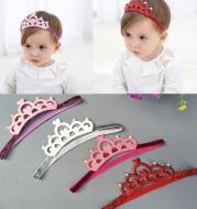 Baby crown headdress