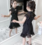Girls chiffon dress