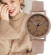 Quartz watch with digital scale