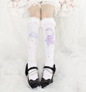 Cute lace lace socks