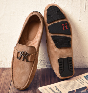 Frosted breathable casual shoes