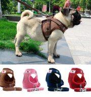 Dog chain chest strap