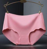 Ice silk seamless cotton ladies underwear