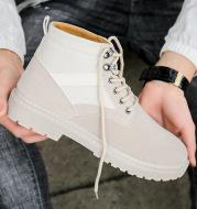 High-top Martin boots