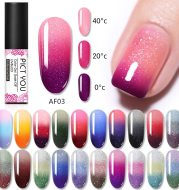 Manicure 3 section warm nail varnish glue