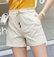Women's loose high waist shorts