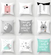 Star moon cartoon pillowcase