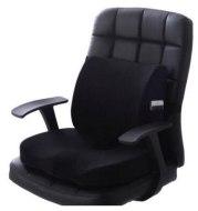 Chair cushion back waist protector suit