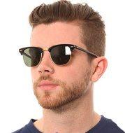 Sunglasses metal half frame sunglasses