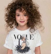 Children's retro short sleeve top