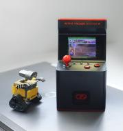 Retro mini arcade handheld game console